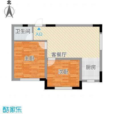 标点79.46㎡标点户型图2室1厅1卫户型10室