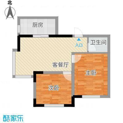 标点81.22㎡标点户型图2室1厅1卫户型10室