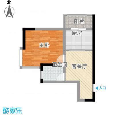 标点55.59㎡标点户型图1室1厅1卫户型10室