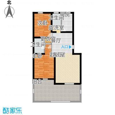 朝阳小区户型图2室1厅 2室1厅1卫1厨