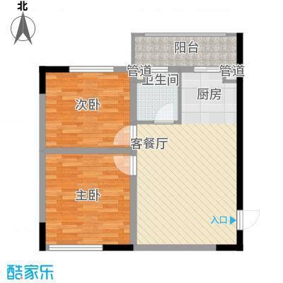标点82.23㎡标点户型图2室1厅1卫户型10室