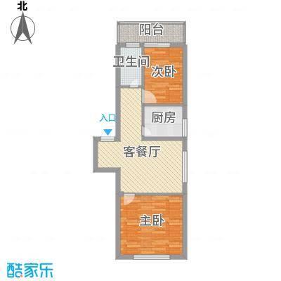 风华新苑65.63㎡风华新苑户型图6户型10室