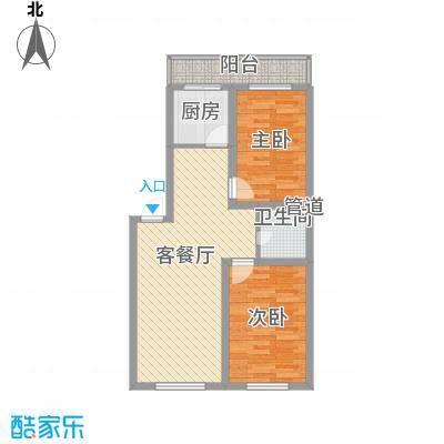 风华新苑86.52㎡风华新苑户型图4户型10室
