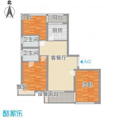大唐盛世花园128.79㎡大唐盛世花园128.79㎡3室2厅2卫1厨户型3室2厅2卫1厨