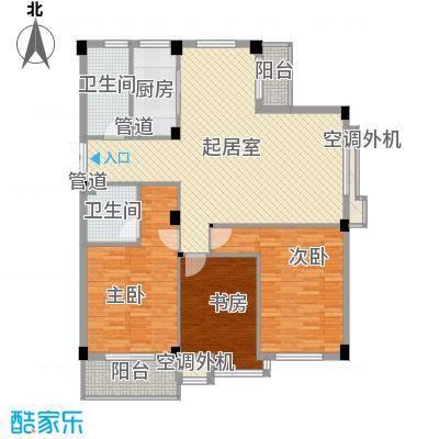 顺馨佳园(浦东)户型3室2厅2卫1厨
