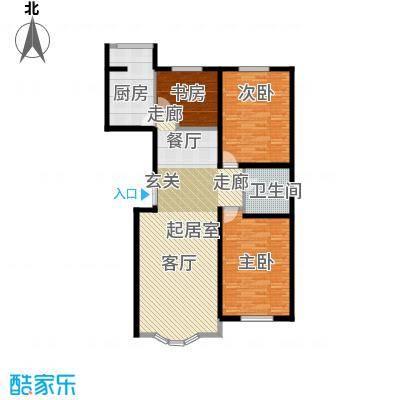 安华美域128.82㎡安华美域128.82㎡3室2厅1卫户型3室2厅1卫