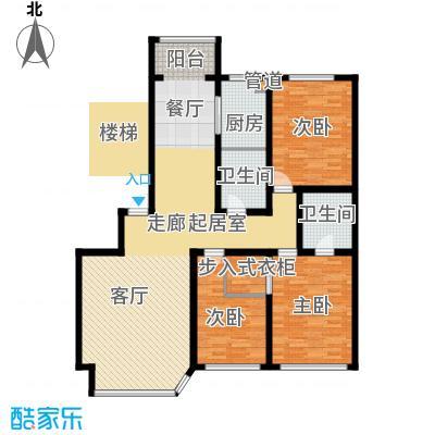 钻石礼都133.00㎡钻石礼都户型图三室两厅两卫3室2厅2卫1厨户型3室2厅2卫1厨