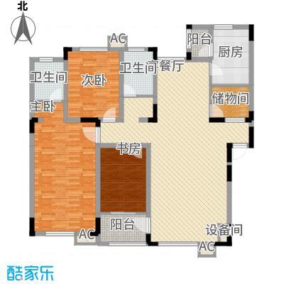 飞悦经典156.74㎡D2户型3室2厅2卫