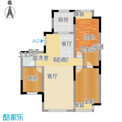融创上城119.00㎡户型图D户型3室2厅2卫1厨