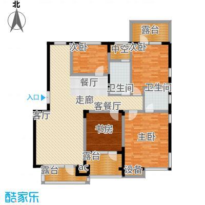 融创上城165.00㎡圣地维拉2水晶花墅C户型4室2厅2卫1厨