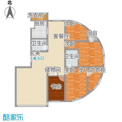 都市华尔兹205.64㎡都市华尔兹户型图5室2厅2卫户型10室