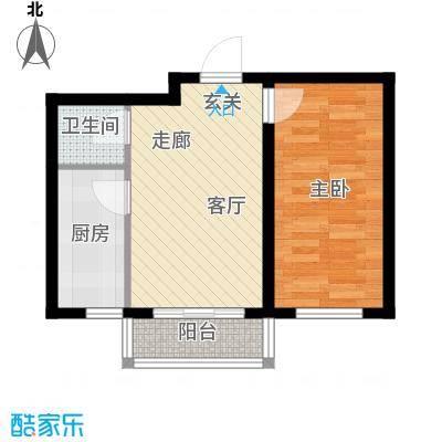 望博园55.88㎡多层户型1室1厅1卫1厨
