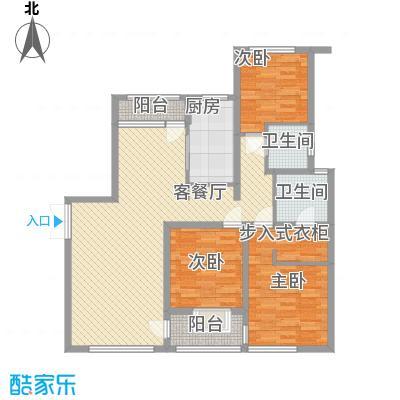 大唐盛世花园138.12㎡大唐盛世花园138.12㎡3室2厅2卫1厨户型3室2厅2卫1厨