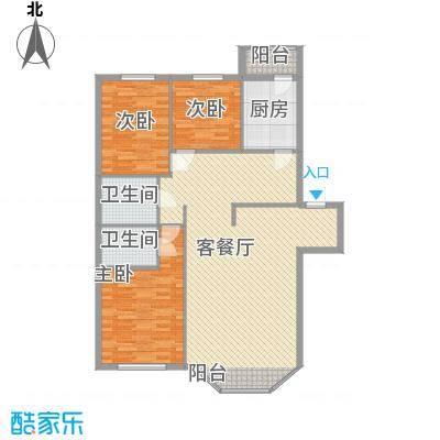 新嘉坡城128.00㎡新嘉坡城户型图3室2厅2卫1厨户型10室