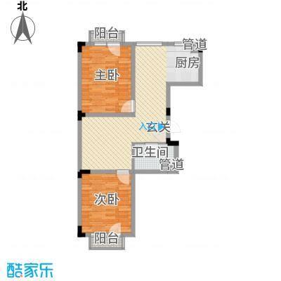 亿洲百旺郦城74.85㎡亿洲百旺郦城户型10室