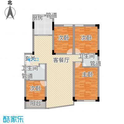 五环高尔夫家园155.88㎡五环高尔夫家园户型图4室2厅2卫1厨户型10室