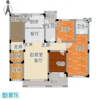力旺塞歌维亚146.14㎡1#301户型3室2厅2卫