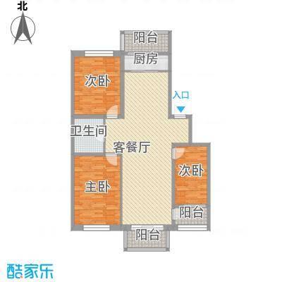 新苑小区128.96㎡新苑小区128.96㎡3室2厅1卫户型3室2厅1卫