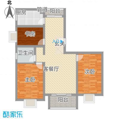 上南花城118.00㎡上海上南花城户型10室