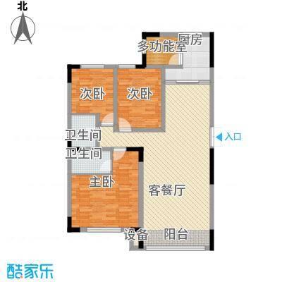 亚泰东城世家133.39㎡亚泰东城世家133.39㎡3室2厅2卫户型3室2厅2卫
