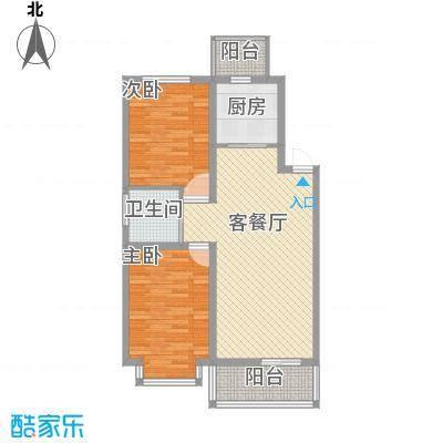 力旺康景91.00㎡力旺康景户型图2室2厅1卫户型10室