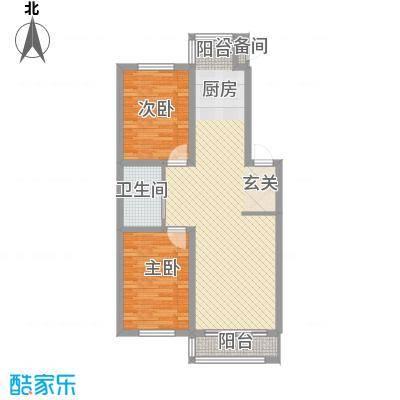 兴顺花园83.75㎡兴顺花园户型图5户型10室