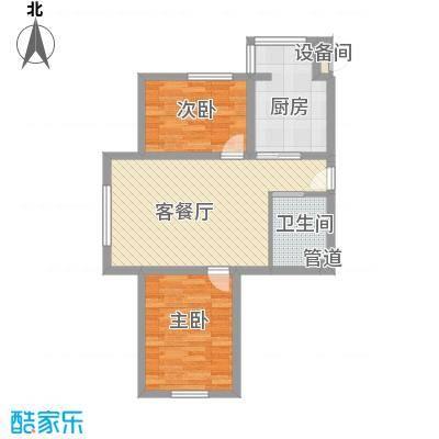 兴顺花园77.47㎡兴顺花园户型图二期户型图2室1厅1卫户型2室1厅1卫