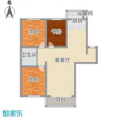 兴顺花园118.04㎡兴顺花园户型图二期户型图3室2厅1卫户型3室2厅1卫