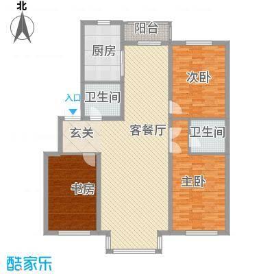 博众新城二期142.00㎡C户型3室2厅2卫