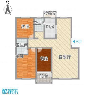家源1953142.23㎡D户型3室2厅1卫1厨