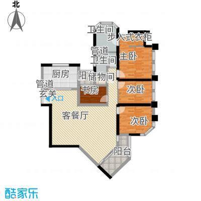 上海绿城三期167.20㎡上海上海绿城三期户型10室
