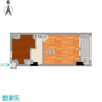 慧晶国际公寓C-2户型10室