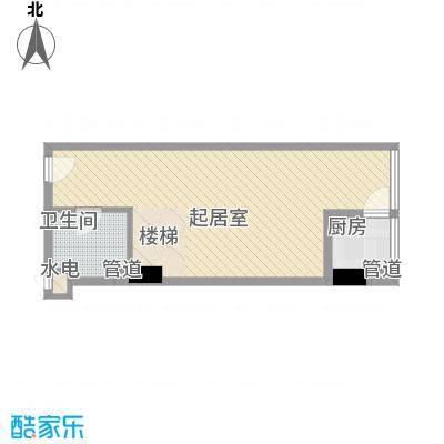 慧晶国际公寓C-1户型10室