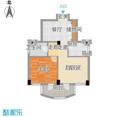 碧云东方公寓碧云东方公寓户型图户型图1室1厅1卫1厨户型1室1厅1卫1厨