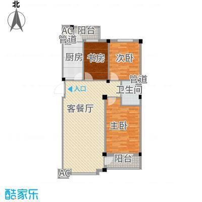 天茂城中央113.01㎡3室2厅2卫