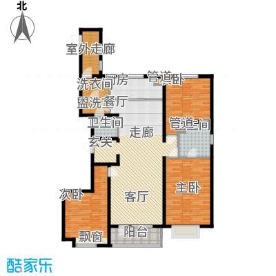 万科城166.00㎡万科城户型图f户型图3室2厅2卫户型3室2厅2卫
