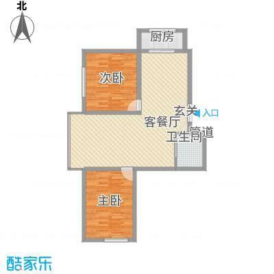 中新花园户型图8