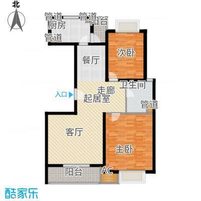 7号楼2房户型图