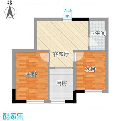 标点64.72㎡标点户型图2室1厅1卫户型10室