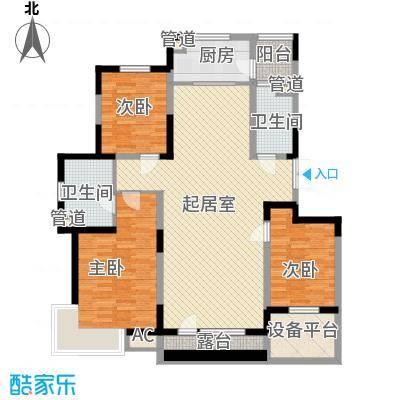 棠棣142.69㎡棠棣户型图P户型图3室2厅2卫户型3室2厅2卫