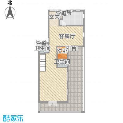 御翠园御翠园户型图B4一层平面户型10室