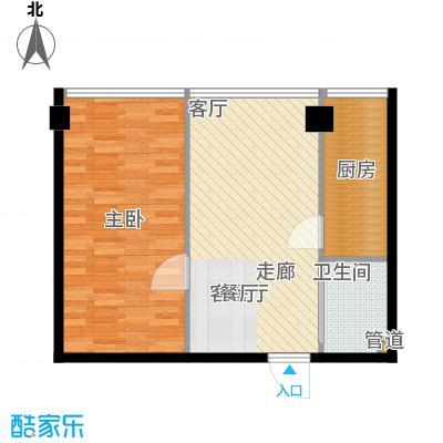 宜家国际公寓63.77㎡宜家国际公寓63.77㎡10室户型10室
