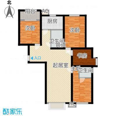 恒光小区4室2厅1户型4室2厅1卫1厨