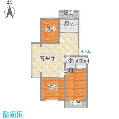 净馨家园135.32㎡净馨家园户型图3室2厅2卫户型10室