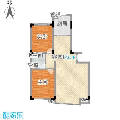 五环高尔夫家园115.65㎡五环高尔夫家园户型图2室2厅1卫1厨户型10室