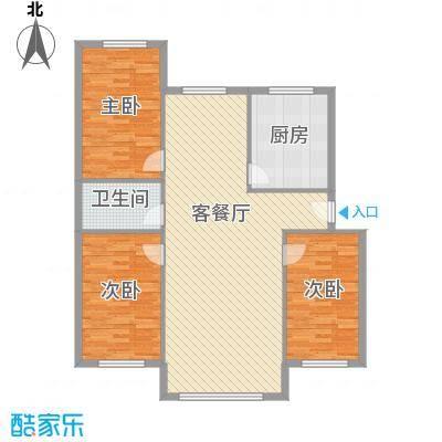 净苑小区129.00㎡净苑小区户型图3室2厅2卫1厨户型10室