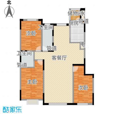 一品红城五期143.00㎡一品红城五期户型图B户型图3室2厅2卫户型3室2厅2卫