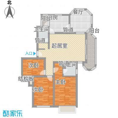 大华锦绣华城锦绣路3338弄小区131.00㎡3室