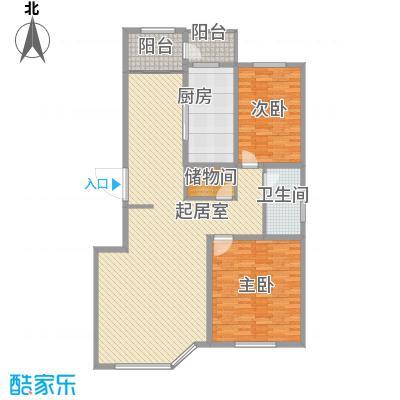 威尼斯花园127.32㎡威尼斯花园户型图3室2厅2卫1厨户型10室