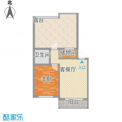 格调小区61.04㎡格调小区户型图1室1厅1卫户型10室